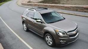 The 2012 Chevy Equinox is one of several