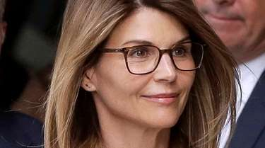 Lori Loughlin departs federal court in Boston in