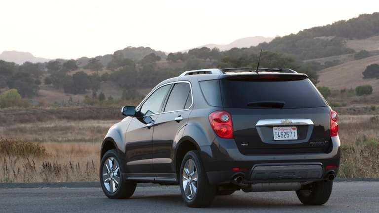 Chevy Equinox's off-road sensibilities make it popular on