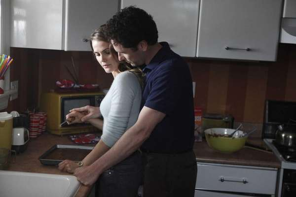Keri Russell and Matthew Rhys star as Cold