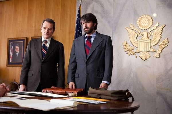 """Argo,"" starring Ben Affleck (right) and Bryan Cranston,"