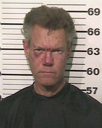 Country singer Randy Travis was charged with driving