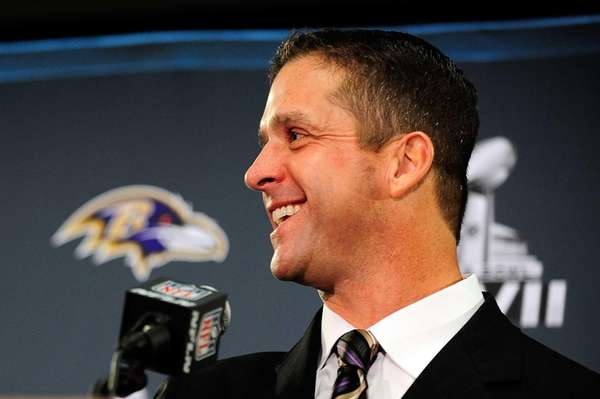 John Harbaugh, head coach of the Baltimore Ravens,