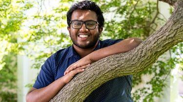 Hicksville High School senior Dhanush Sivasankaran has been