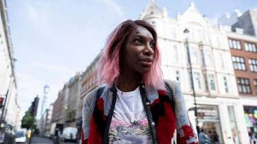 "Michaela Coel in HBO's ""I May Destroy You."""