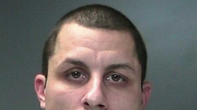 Harry Fleischmann Jr., 34, of Patchogue, seen here