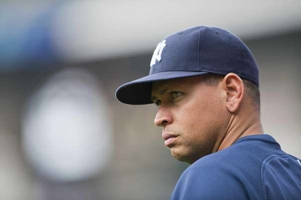 Yankees third baseman Alex Rodriguez prior to the