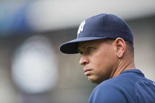 Yankees third baseman Alex Rodriguez prior to the