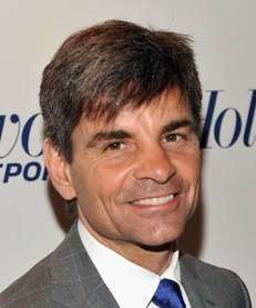 ABC News journalist George Stephanopoulos and his