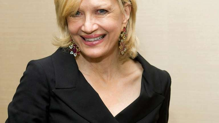 Diane Sawyer attends Aretha Franklin's seventieth birthday party