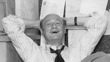 Ed Koch in the office of his campaign