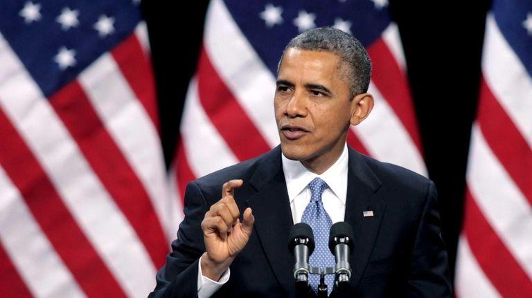President Barack Obama delivers his address on immigration