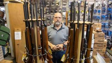 Andrew Chernoff owns the Coliseum Gun Shop in