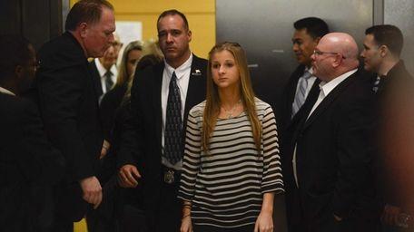 Fallen Police Officer Peter Figoski's daughter Corrine Figoski,