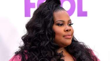"Amber Riley attends the world premiere of ""Nobody's"