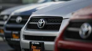 Toyota is recalling 907,000 vehicles, mostly Corolla models,