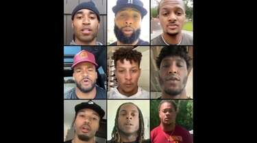 Various NFL stars teamed up to record a