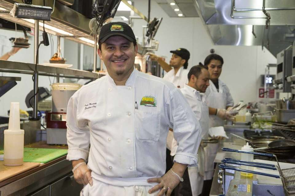 Havana Central head chef Oscar Martinez. (Jan. 19,
