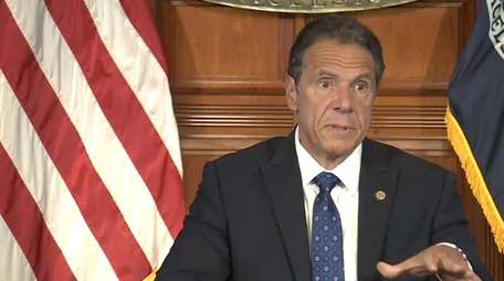 Gov. Andrew M. Cuomo on Thursday said looters