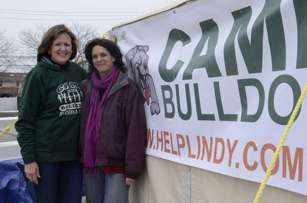 Andrea Curran, left, one of the founders of