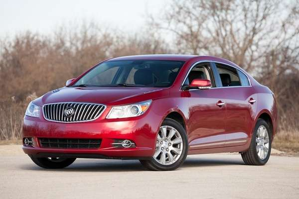 At cruising speeds, the 2013 Buick LaCrosse has