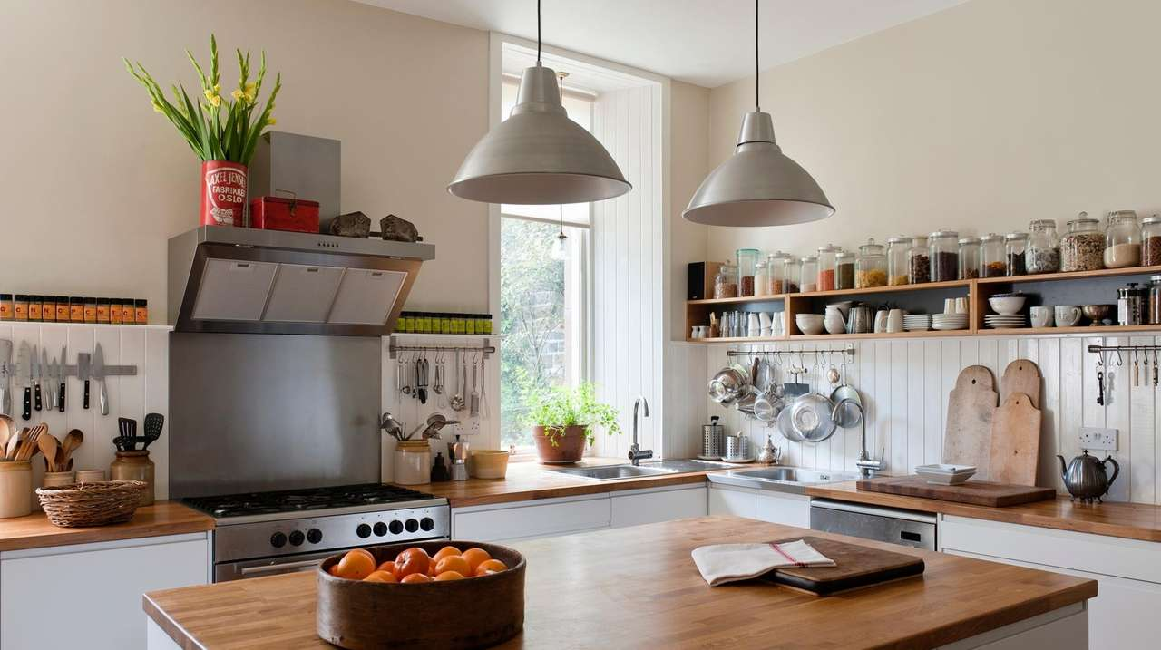 Nine ways to declutter your kitchen for good