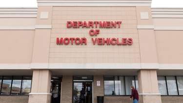 The Medford DMV on Jan. 28, 2020.