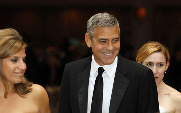 George Clooney attends the White House Correspondents' Association