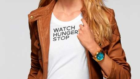 Michael Kors is battling world hunger with a