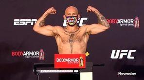 Watch Brian Kelleher, from Selden,and Cody Stamann weigh
