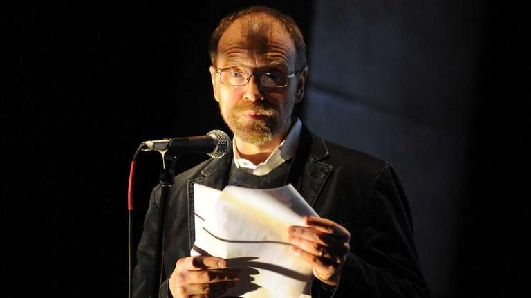 Author George Saunders. His new book is a