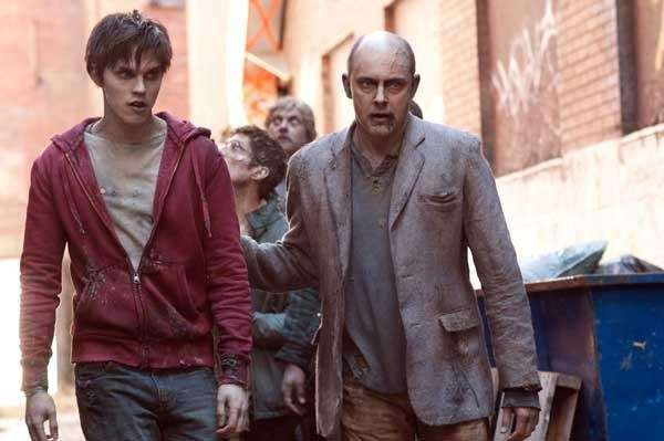 Rob Corddry, right, and Nicholas Hoult in a