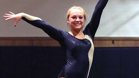 Wantagh's Brianna Quinn wins the all around against