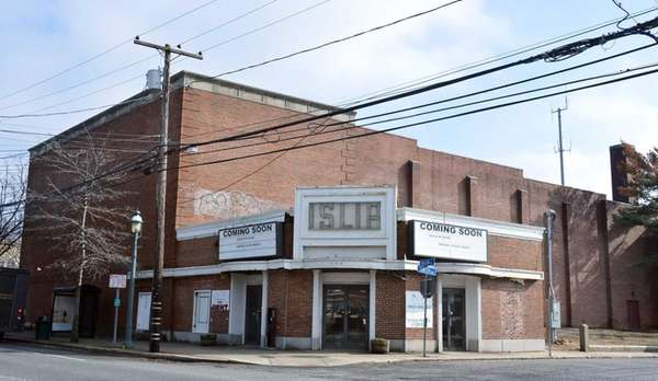 The Historic Islip Theater on West Main Street,