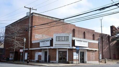 The Historic Islip Theater on West Main Street,