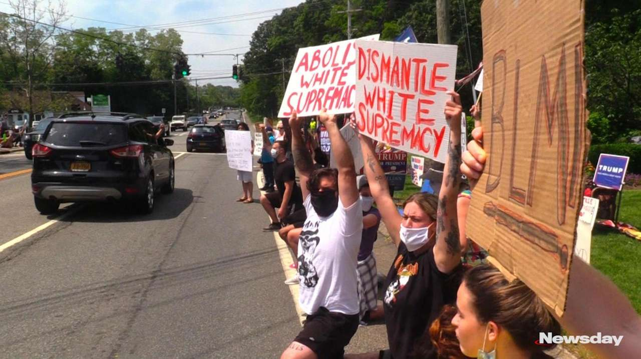 Protests continue on Long Island after the death