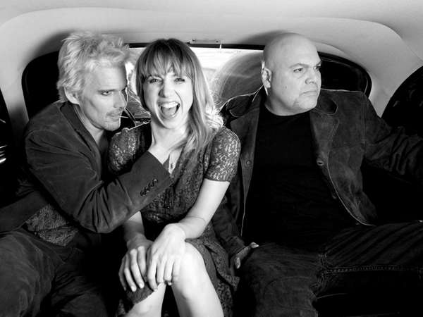 Ethan Hawke, Zoe Kazan and Vincent D'Onofrio in