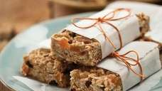 The Pecan Granola Bars can be found in