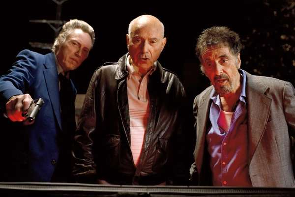 From left, Christopher Walken as Doc, Alan Arkin