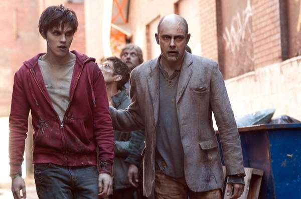 From left, Nicholas Hoult and Rob Corddry in