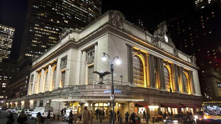 Grand Central Terminal is a hub of activity