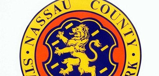 Nassau County seal.