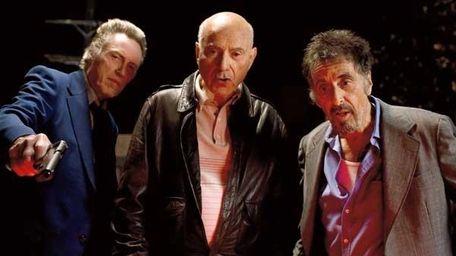 From left, Christopher Walken, Alan Arkin, and Al