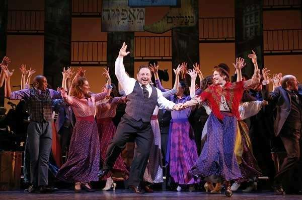 Danny Rutigliano and the cast in quot;Fiorello!quot;