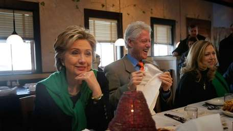 Hillary Clinton and her husband former U.S. President