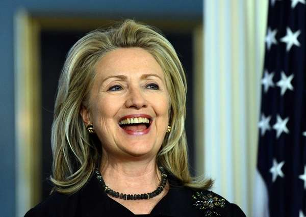 U.S. Secretary of State Hillary Clinton will step