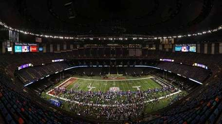 Mercedes-Benz Superdome in New Orleans. (Getty Images)