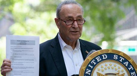 Senator Chuck Schumer called on Senate Republicans to