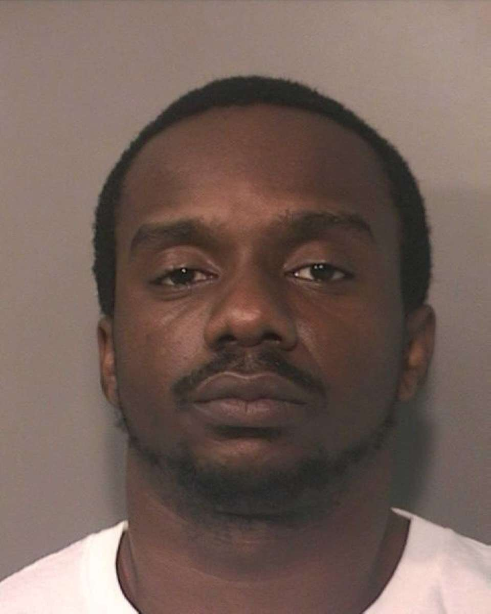 Triston Thomas, 25, of Elmont, was arrested and