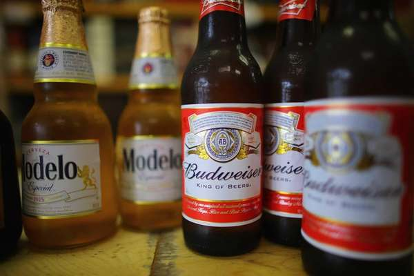 AB InBev, maker of Budweiser and other beers,